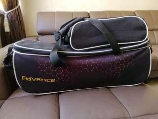 Advance 3 ball tote bowling bag