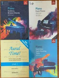 ABRSM exam books full set