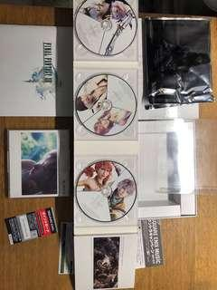 🚚 太空戰士 13 初回生產限定盤 CD 五枚組