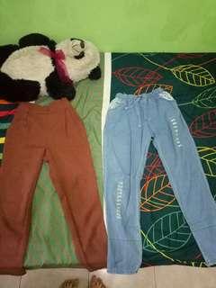 Celana Kerja dan Celana Jeans