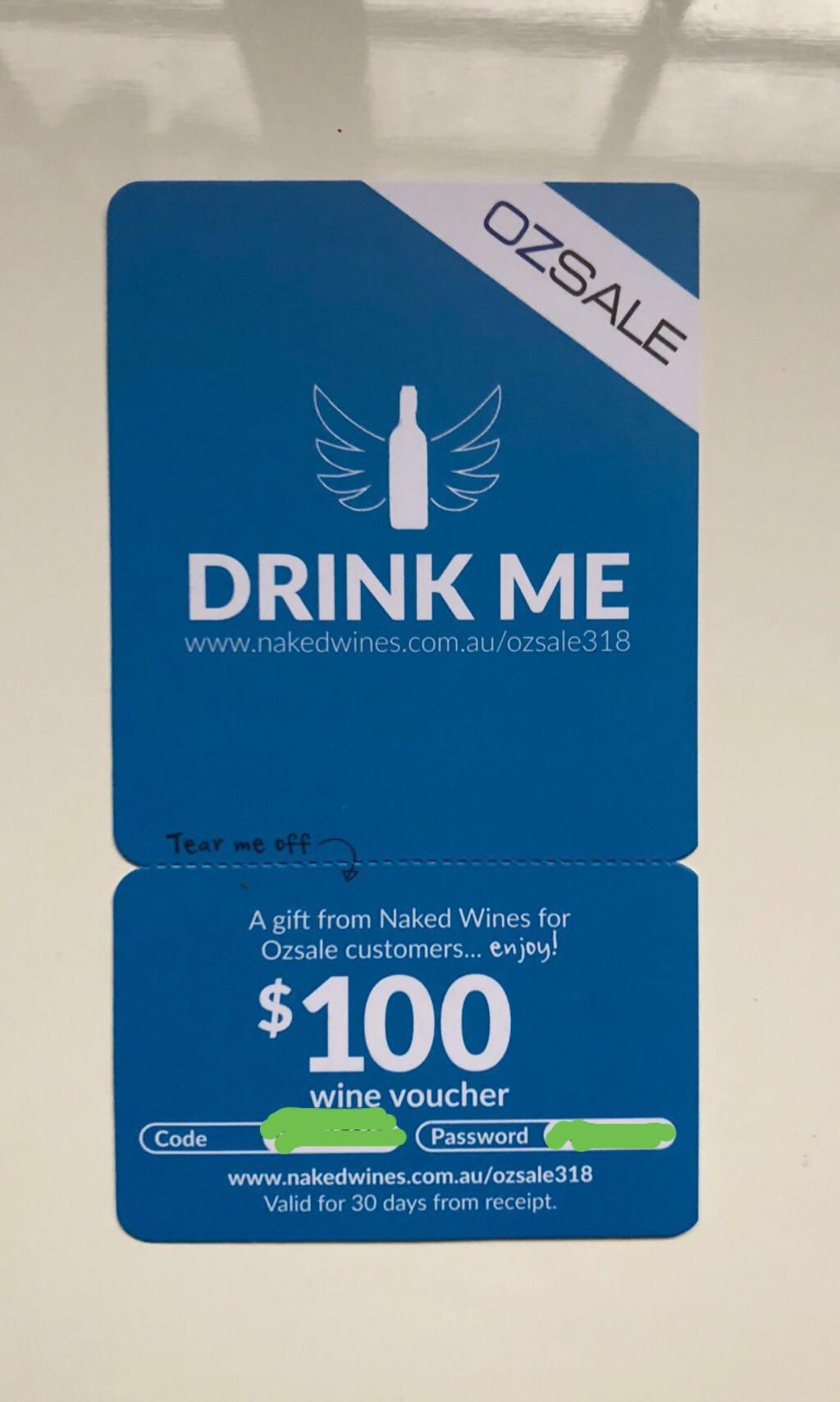 Naked Wines Voucher Entertainment Gift Cards Vouchers On