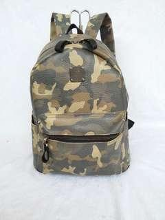 MCM backpack 100% real leather ransel