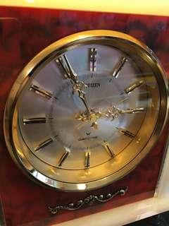 CITIZENS西鐵城日本古董石英時鐘