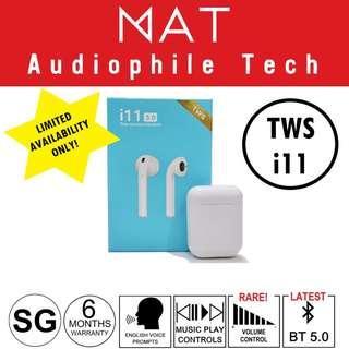 BN TWS i11 Bluetooth 5.0 Wireless Earphone