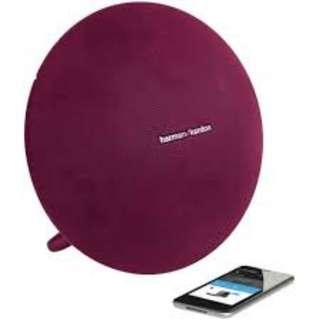 Harman Kardon - Portable Bluetooth Speaker Onyx Mini - Red