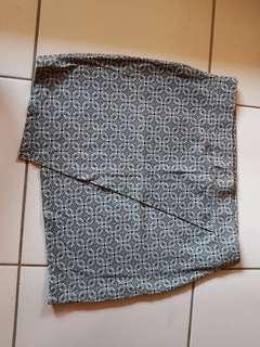 Asymmetrical Bandage Skirt