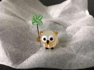 Mini glass ornament from Japan
