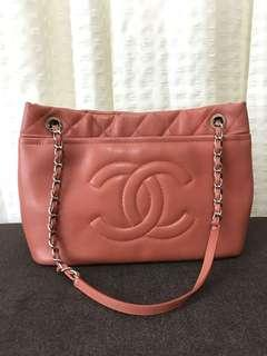Authentic Chanel shoulder bag with double straps