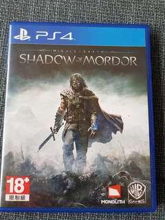 PS4 Shadow Of Mordor