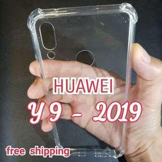 HUAWEI Y9 ( 2019 ) Anti Shock Proof Transparent Hard Case