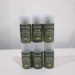 Nature Republic - Snail Emulsion & Skin Booster