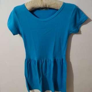 Light Blue Skater Dress from Shapes