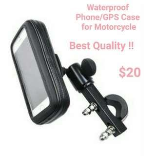 Waterproof Phone/GPS Case & Holder for Motorbike(Top Quality!)