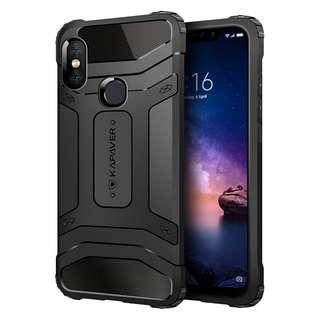 KAPAVER® Premium Rugged Armour for Redmi Note 6 / Note6 Case