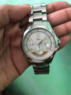 Original Lacoste watch unisex!