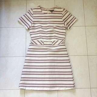 Warehouse Striped Dress