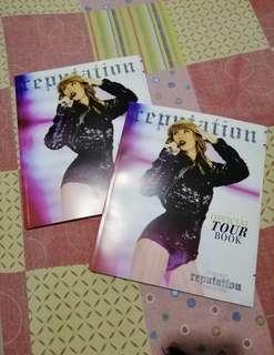 Taylor Swift Reputation Official Tourbook 2018