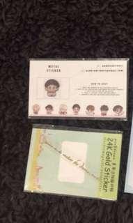 BTS emw stickers