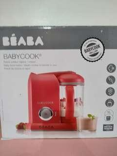 Beaba baby cook solo red
