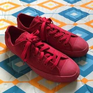 fceabe056c8f Original Converse Red Monochrome Chuck Taylor All Star Low Mono Sneaker