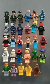 ASSORTED ALT LEGO MINIFIGURES LOT