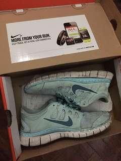 Womens Nike Free 5.0 Rubber Shoes