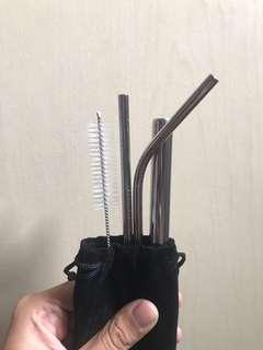 Sedotan Stainless/ Stainless Straw #JAN25