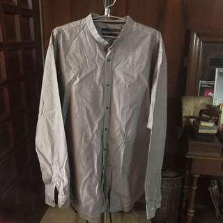 Celio Mandarin Collar Long Sleeves