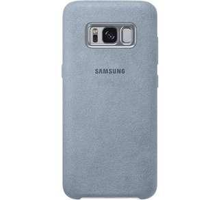 S8 Alcantara Mint Cover (Authentic Samsung)