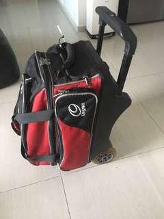 Bowling Bag With 2 Balls (10 & 12 lbs)