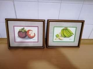 Picture Frame Fruits