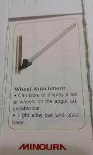 Bicycle wheel attachment