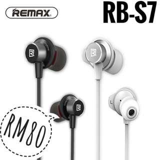 NEW Original Remax RB-S7 Bluetooth Sporty Earphone (Postage Only)