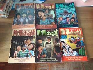 Mr Midnight Books