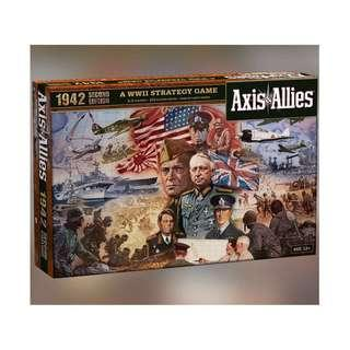 Axis & Allies 1942, second edition Board Game