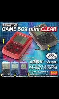 Retro Mini Crystal Clear Gamebox