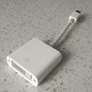 Apple Thunderbolt to DVI adapter
