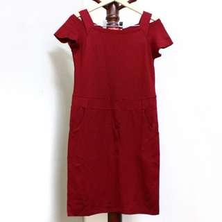 Red Wine Dress #CNYRED #JAN50