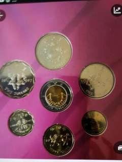 全新香港回歸 1997年紀念幣一套