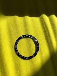 Rolex 勞力士 GMT 1675 Insert 舊裝古董圈片 粗字 小有銀字 配件 parts