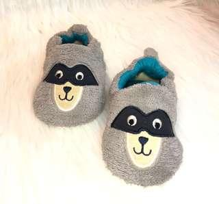 Pitter-Pat Raccoon Walking shoes