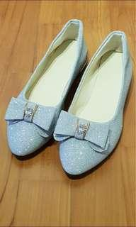 Shiny Glittery Flats ( great for wedding )