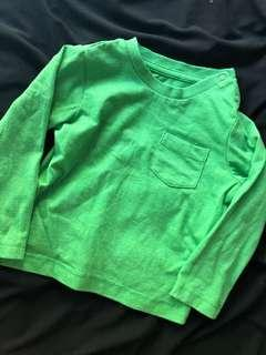 🚚 Mothercare green Long sleeve top