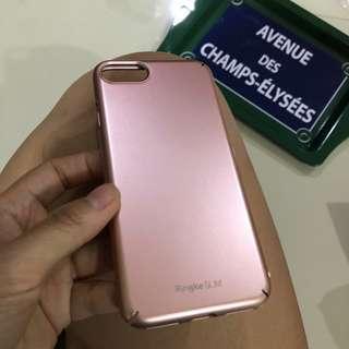 #JAN25 Casing Ringke Slim iphone 7 / 8 , Rose Gold Hard Case