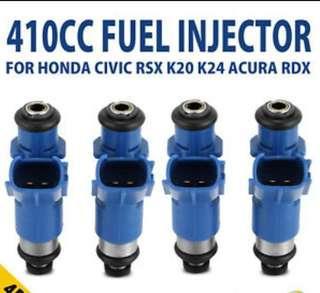 Full set 410cc Honda injector for k20,k24