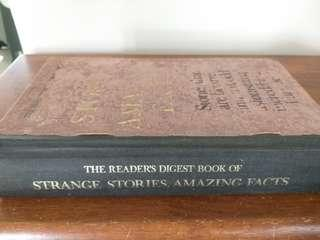The Reader's Digest Book of Strange Stories, Amazing Facts