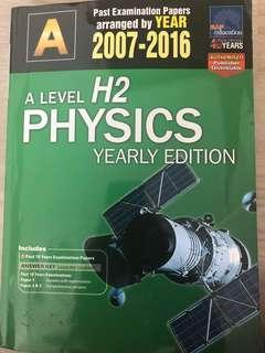 🚚 H2 Physics TYS /W Answers