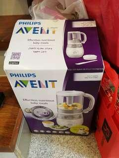 Avent baby food steamer
