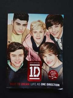 Dare to Dream Life as One Direction Book
