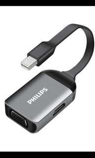 Philips Mini DP to HDMI & VGA Converter